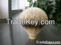 badger hair shaving brush head