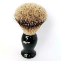 Silvertip Badger Hair Shaving Brush of Resin Handle With Gift Box Packed