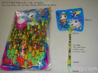 Whistle Balloon candy toys