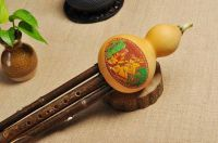 Bamboo 3 Octaves Gourd Flute Hulusi Woodwind