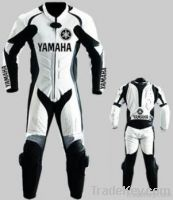 "Motorcycle Leather Suit ""Replica Yamaha 2013"""