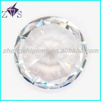 fashion shinning round brilliant cut  cubic zirconia loose gemstone wholesaler
