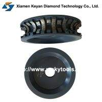 Stone Grinding Profile Wheel Sintered Processing, Segmented Diamond Grinding Wheel for Concrete Sandstone Granite Stone