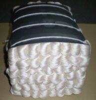 60NM/2 100%Spun Silk Yarn In Raw White In Cone