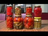 tomato and cherry tomato in jars