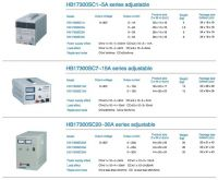 HB17***SC series DC Stabilized Power Supply