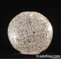 Aluminium Wire Table Lamp