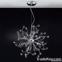 Crystal Ball Modern Pendant Lamp