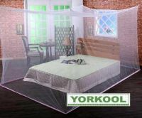 Long lasting insecticidal mosquito net