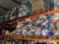 Second hand clothing, shoes, textiles