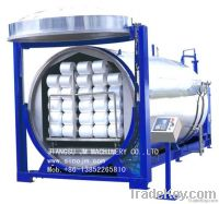 Spandex Covered Yarn Steaming Tanker