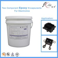Two components epoxy sealant for electronics