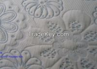 double jacquard knitting mattress fabric
