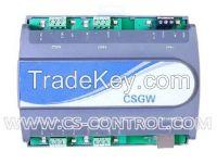 Gateway interface device to convert Modbus RTU to BACnet IP or MSTP