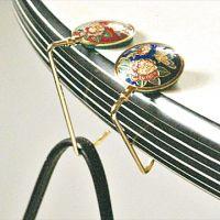 Cloisonne Handbag Hooks