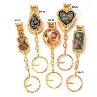 Cloisonne Keychain Nail Clippers