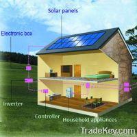 280W monocrystalline solar panel for solar system