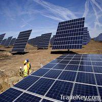 260W monocrystalline solar panel for solar system