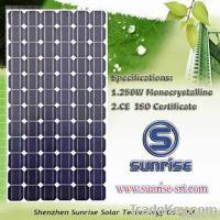 250W monocrystalline solar panel for off-grid solar system