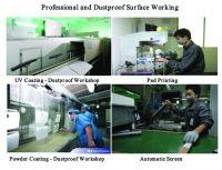 Dustproof Surface Working Service - Coating, Painting, Silk screening,