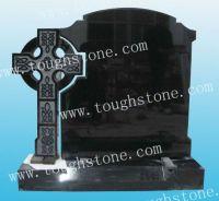 Granite Tombstones with Cross Design