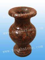 stone vase for tombstone