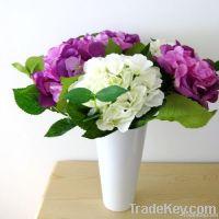 Short Hydrangea Stem artificial flower fake flower silk flower