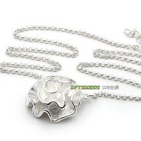 Silver Necklace Jewelry