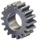 Industrial steel spur