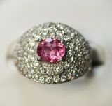 925 Silver Ring with Tourmaline (LTO2045)
