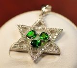 925 Silver Pendant with Diopside (Ltd2012)
