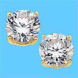 9k Yellow Gold Earring With Gemstone (LEG1106)