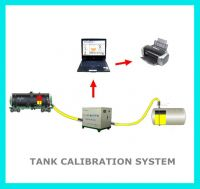 Diesel petrol fuel tank calibration system for fuel fiilling station storage tank volume measuring