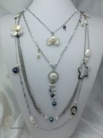 10_Pearl Chain Long Necklace