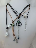 21_Pearl Leather Necklace