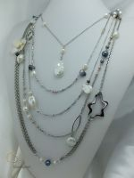 40_Pearl Chain Long Necklace