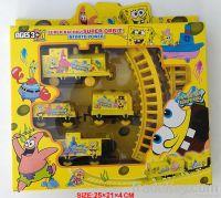 Plastic Battery Rail Track Toys Angry Birds(Sponge Bob, Ben 10, Thomas)