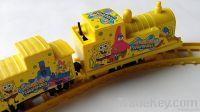 Popular SPONGE BOB Train Track Rail Toys HOT