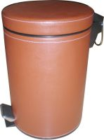 Hotel Leather Dustbins