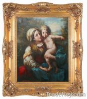 factory supply high quality classical wooden picture frame