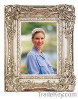 supllywooden  photo frame with velvet easel back