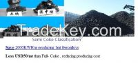 Semi- coke-Save 2000KWH in producing 1mt ferroalloys