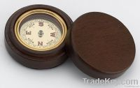 Copper Compass w/ Walnut Wooden Box