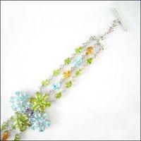 Gemstone / semi-precious stone jewelry: Amethyst Weimar garden Pendant
