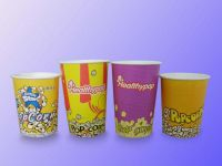 Paper Popcorn Buckets
