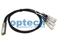 40G QSFP+ DAC/QSFP+ to 4 x 10G SFP+ Fanout DAC