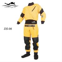 1200D three layer ventilate material diving kayaking drysuits DS06