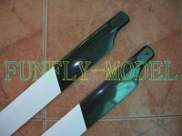 550mm fiber glass rotor main blade