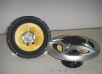 Car Speaker With Fiberglass Cone