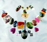 Semi-precious Stone Cabochons & Mosaic Inlays